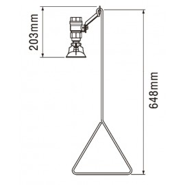 S19-130 | Ducha de emergencia - A techo