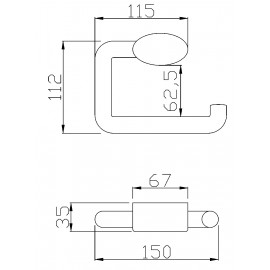 F17AGN04W1 | Portarrollos