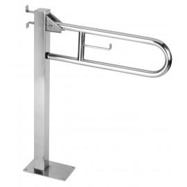 BGC710C | Barra de apoyo abatible vertical con columna fija