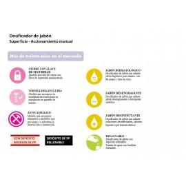 DJ0031CS | Dosificador de Jabón Manual