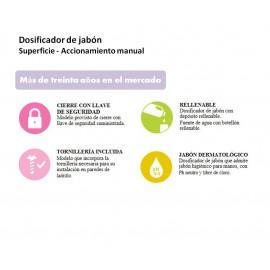 DJ0515F | Dosificador de Jabón Manual