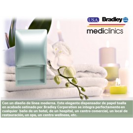 2A01 | Dispensador Empotrado de papel rollo, Bradley