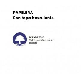 PP0986 | Papelera con tapa basculante