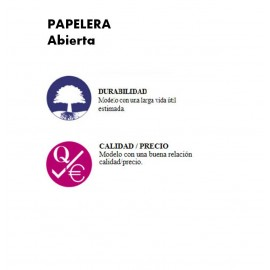 PP1065 | Papelera abierta