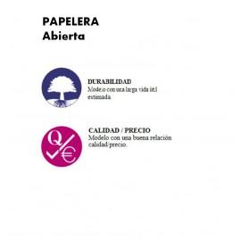 PP1065C | Papelera abierta
