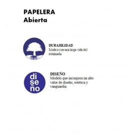 PP1022 | Papelera abierta