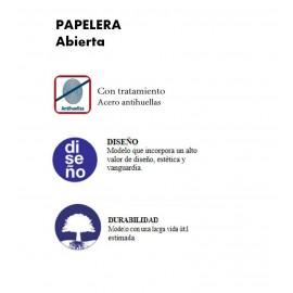 PP1022CS | Papelera abierta