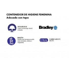 4A10-11 | Contenedor de higiene femenina para suelo o pared.
