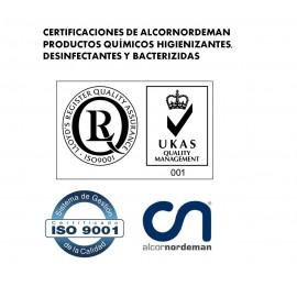 Biecolimp Bactericida tipo D | Pack 50 sobres + gar. 5L + B. 1L + TestChlor