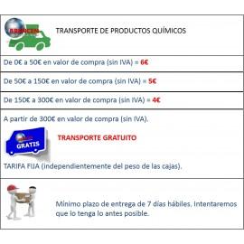 Nox | Abrillantador - acero inox. Base aceite