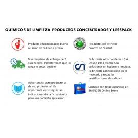 Lesspack Lavavajillas Manual | Alto poder desengrasante