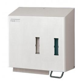 DT0204 | Dispensador de papel toalla y dosificador de jabón