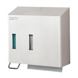 DT0205 | Dispensador de papel toalla y dosificador de jabón