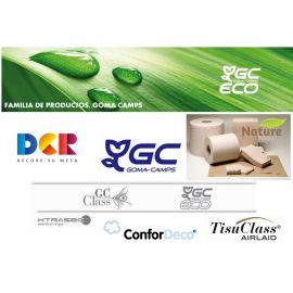 GOMA CAMPS MANTEL 100X100 | Blanco - 37 g  C500