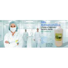 GEL HIDROALCOHÓLICO | Botella 500ml a 5,26€ | Higienizante de Manos | Prevención & Eficacia. 70% Alcohol - Higienización Total