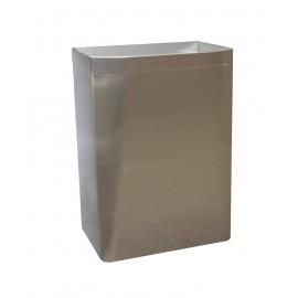 3A05-11 | Papelera abierta para suelo o adosar en pared.