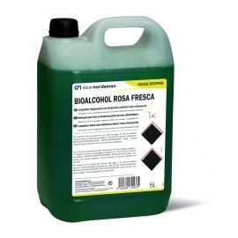 Bioalcohol Rosa Fresca | Fregasuelos - secado rápido