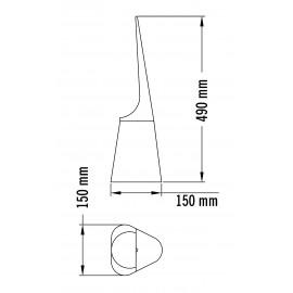 ES0421| Escobillero Medicolor
