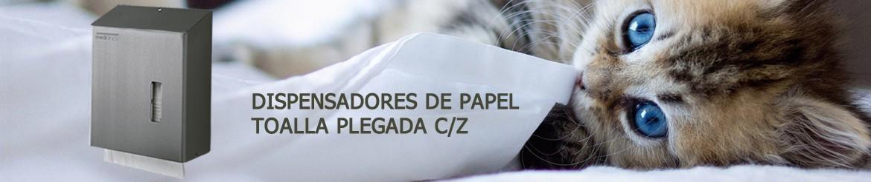 Dispensadores de Papel Toalla Plegada C Z - Mediclinics | Venta Online