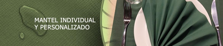 Mantel Individual y Personalizado | Tejido con Tratamiento Antimanchas