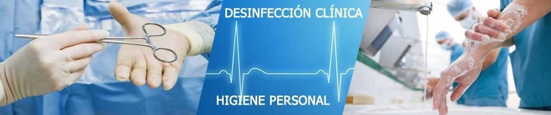 Productos Desinfección Clínica y de Higiene Personal | Venta Online