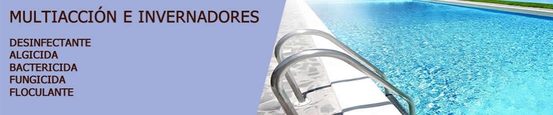 Algicidas e Invernadores - Piscinas- Spas | Químicos | Venta online